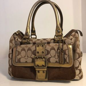 COACH Limited edition vintage satchel.